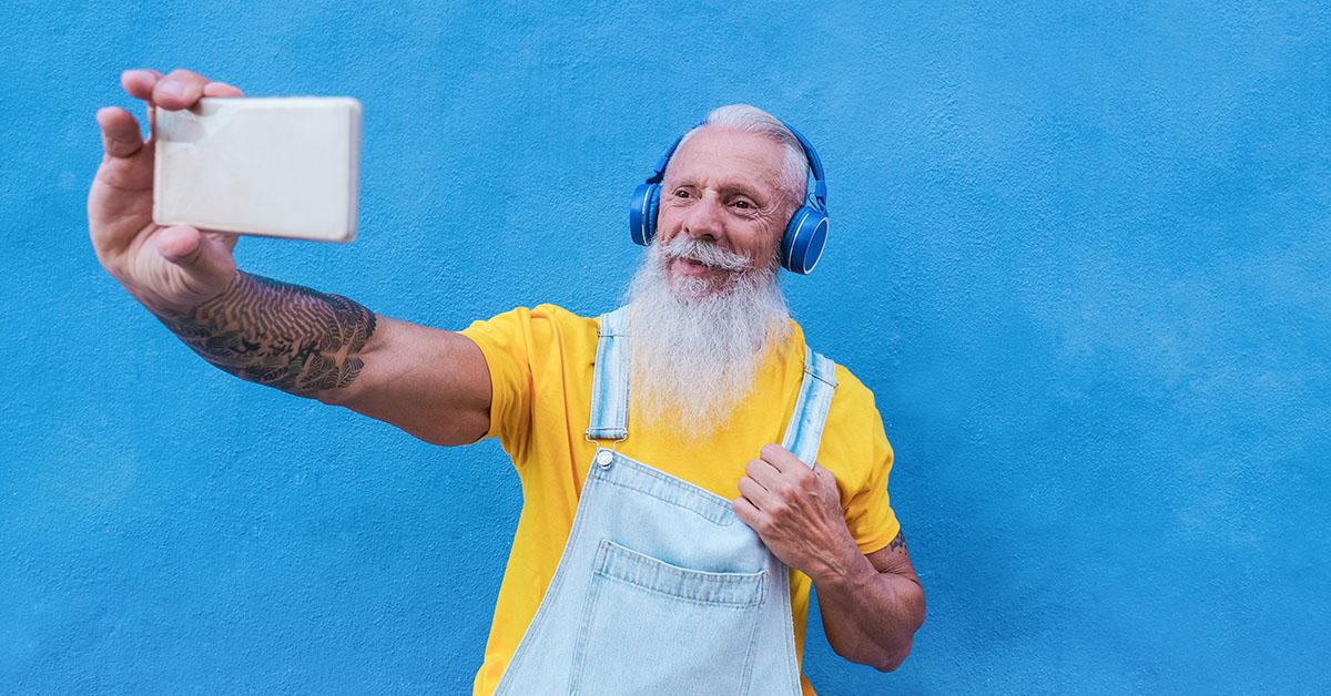 an increasing number of older people are using social media