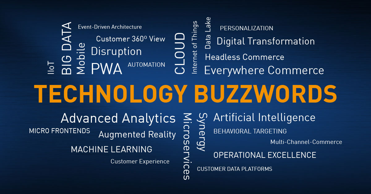 You better choose technology based on facts, not hypes, trends or buzzwords